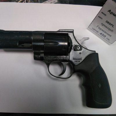 револвер Arminius cal. 38special